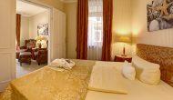 Strandhotel Sylt Junior Suite Schlafzimmer