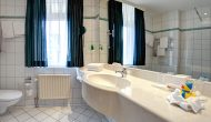 Strandhotel Sylt Junior Suite Badezimmer