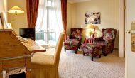 Strandhotel Sylt Junior Suite Wohnzimmer