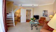 Strandhotel Sylt Maisonette Suite Wohnzimmer 2