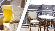 Strandhotel Sylt Balkon Sitzmöglichkeiten