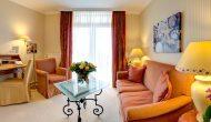 Strandhotel Sylt Suite mit Meerblick Wohnzimmer