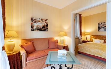 Hotelzimmer Strandhotel Sylt Junior Suite