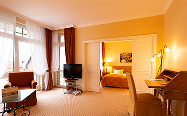 Hotelzimmer Strandhotel Sylt Suite