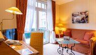 Strandhotel Sylt Junior Suite Balkon