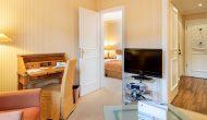 Strandhotel Sylt Junior Suite Wohnbereich