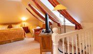 Strandhotel Sylt Maisonette Suite Schlafzimmer