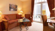 Strandhotel Sylt Maisonette Suite Wohnbereich