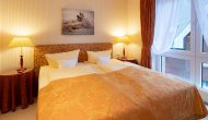 Strandhotel Sylt Suite Meerblick Schlafzimmer