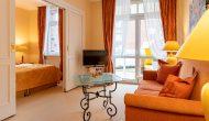 Strandhotel Sylt Suite Wohnbereich