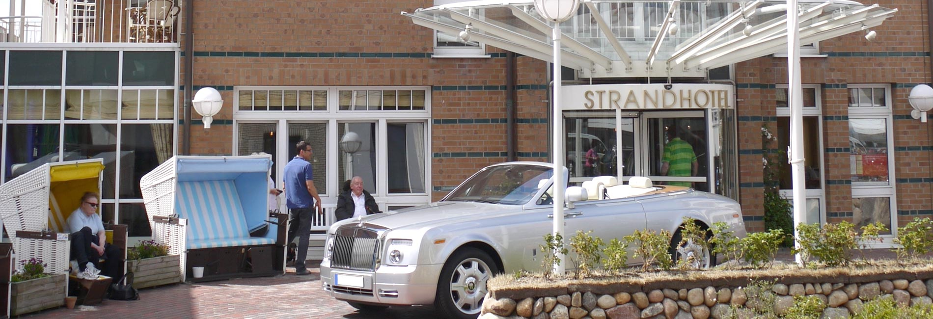 Hotel Sylt Eingang