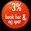 3% günstiger Buchen im Strandhotel Sylt Button